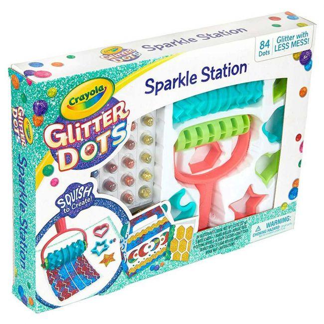 Crayola - Glitter Dots Sparkle Station