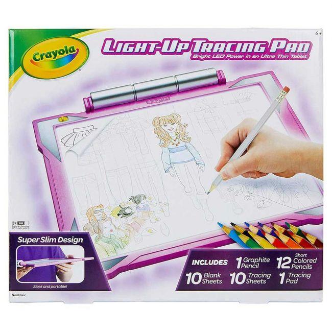 Crayola - Light Up Tracing Pad Girl
