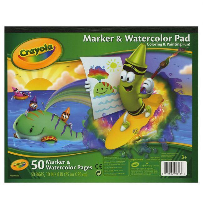Crayola - Marker Watercolor Pad