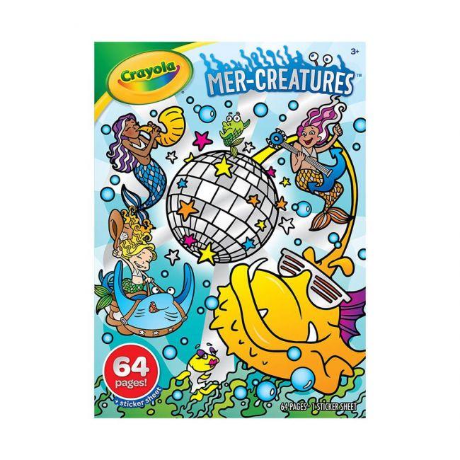Crayola - Mer Creatures Coloring Book