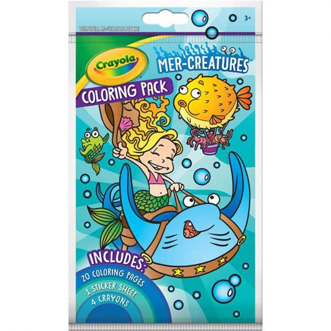 Crayola - Mer Creatures Coloring Pack