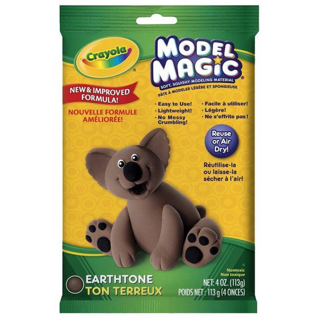 Crayola - Model Magic 4 Oz. Pouch Earth Tone