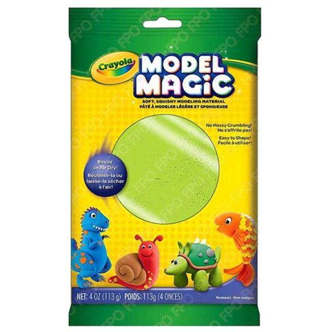 Crayola - Model Magic 4 Oz. Pouch Neon Green