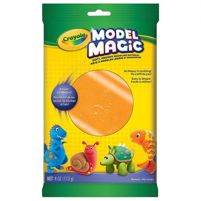 Crayola - Model Magic 4 Oz. Pouch Orange