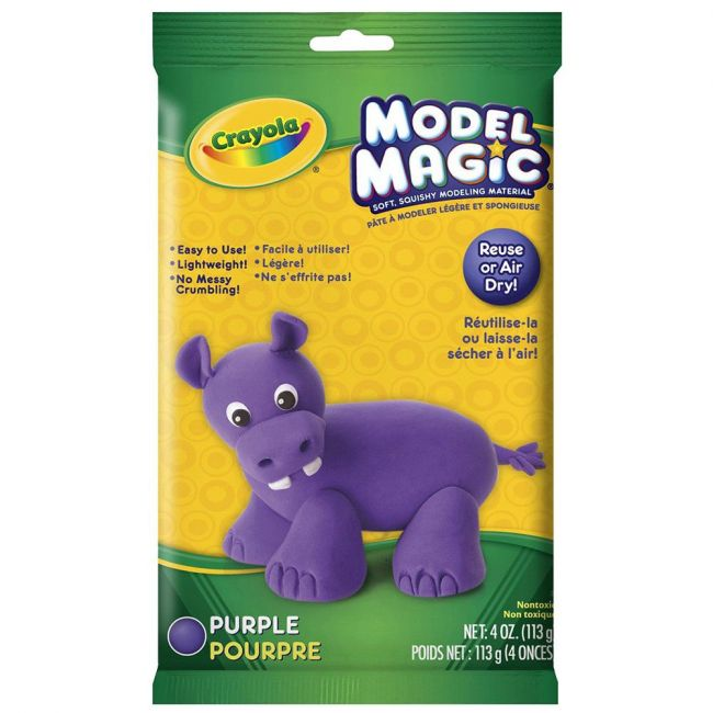 Crayola - Model Magic 4 Oz. Pouch Purple