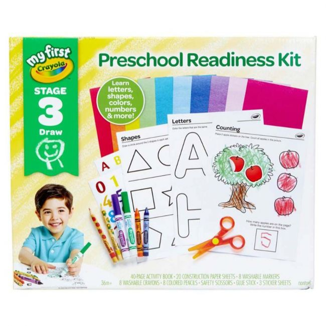 Crayola - My First Crayola - Preschool Ready Kit Stage 3