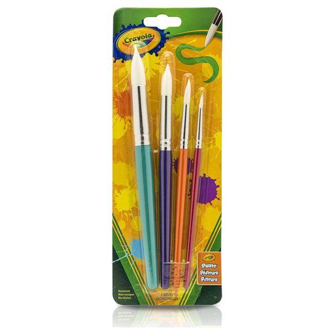 Crayola - Round Brush Set Pack Of 4