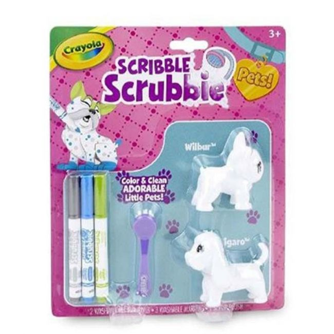 Crayola - Scribble Scrubbie Pets Dogs
