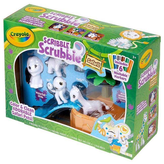 Crayola - Scribble Scrubbie Safari Tub