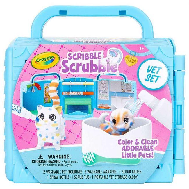 Crayola - Scribble Scrubbies Pets Vet Set