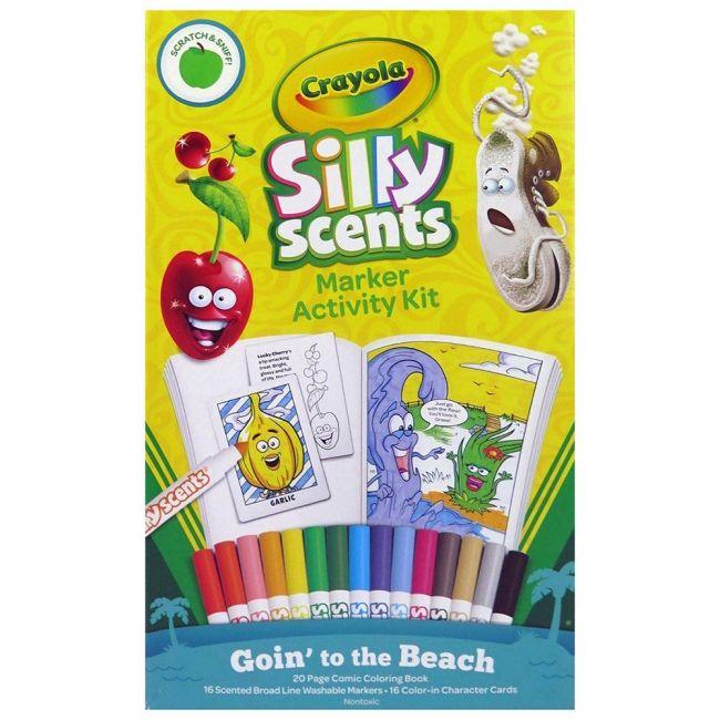 Crayola - Silly Scents Marker Activity Kit Beach Vacation
