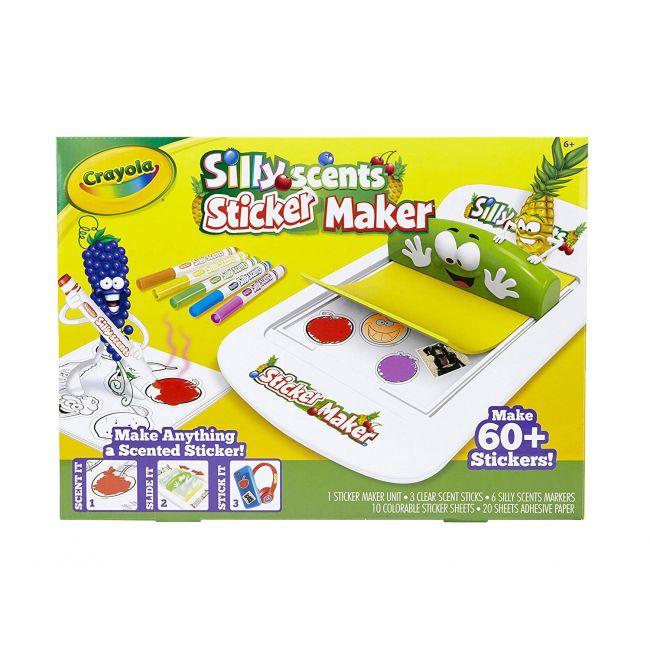Crayola - Silly Scents Sticker Maker