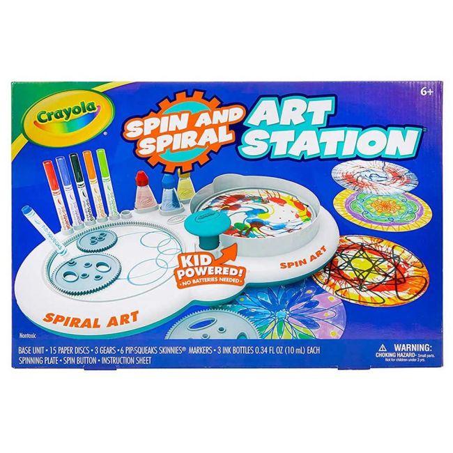 Crayola - Spin N Spiral Art Station