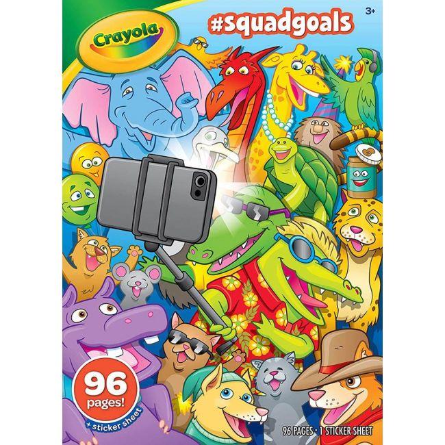 Crayola - Squad Goals Coloring Book