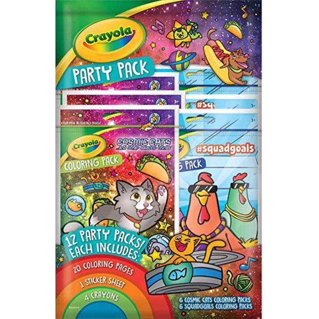 Crayola - Squad Goals Coloring Pack