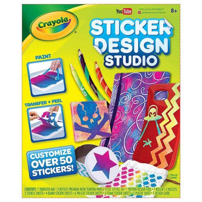 Crayola - Sticker Design Studio