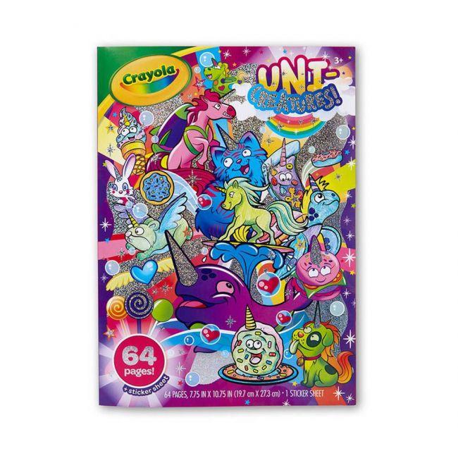 Crayola - Uni Creatures Coloring Book
