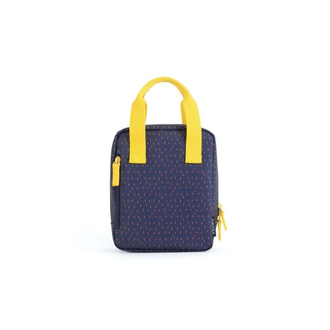 Ekobo - Go Isothermic RePet Lunch Bag Dashes Series Blue