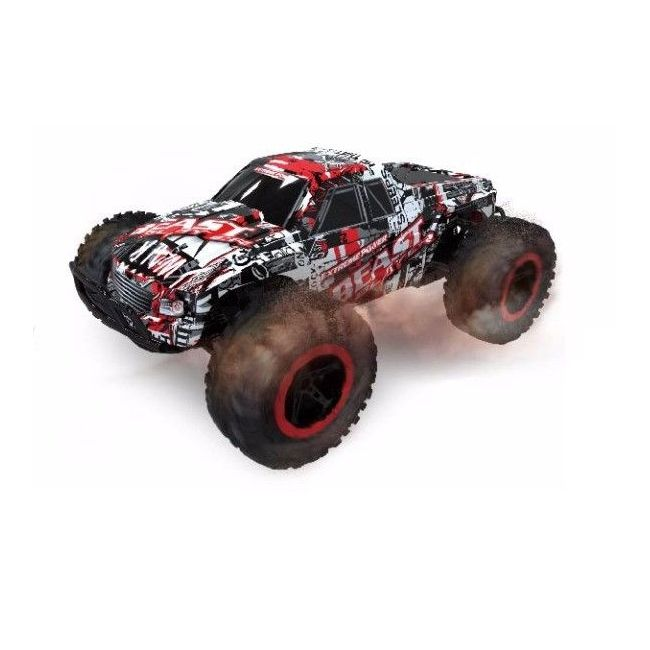 D-Power - Remote Controlled Cross Country Car 1:16 2.4G R/C - Beast-Red