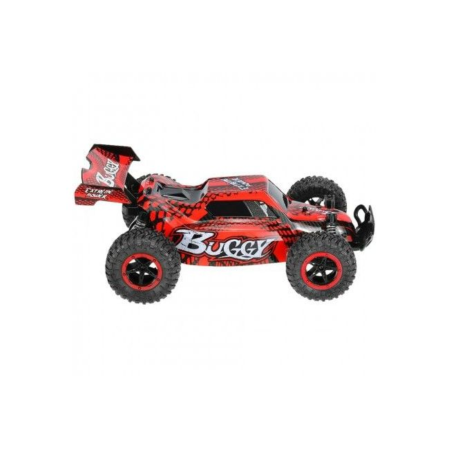 D-Power - Remote Controlled Cross Country Car 1:16 2.4G R/C - Buggy-Red