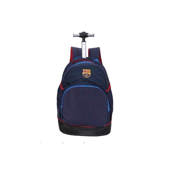 Disney FCB Printed Trolley Backpack with Zip Closure