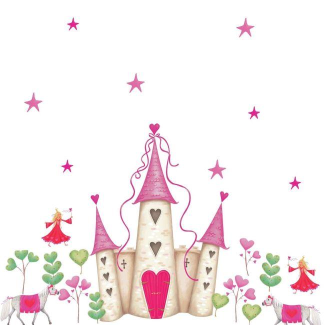 RoomMates Princess Castle Art Accent