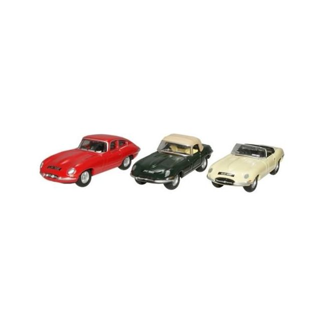 Oxford Diecast E Type Triple Set Toy Car