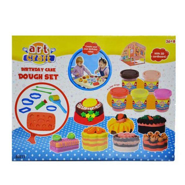 Dede - Art Craft Birthday Cake Dough Set