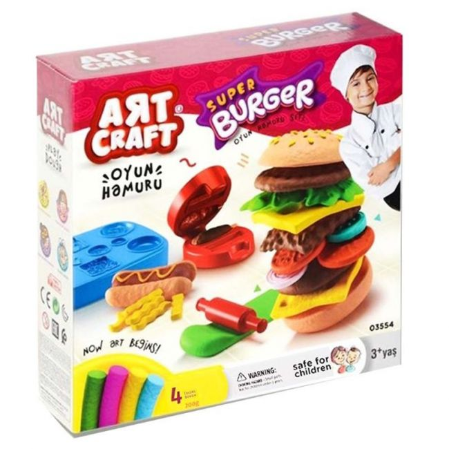 Dede - Art Craft Hamburger Dough Set - 200G