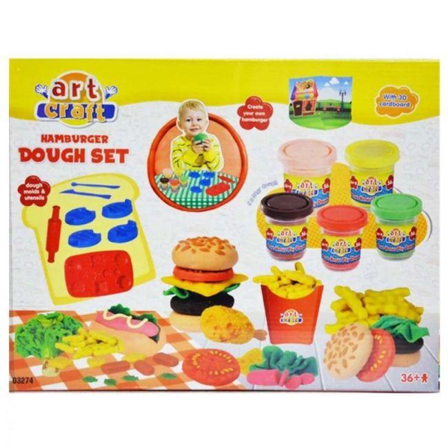 Dede - Art Craft Hamburger Dough Set