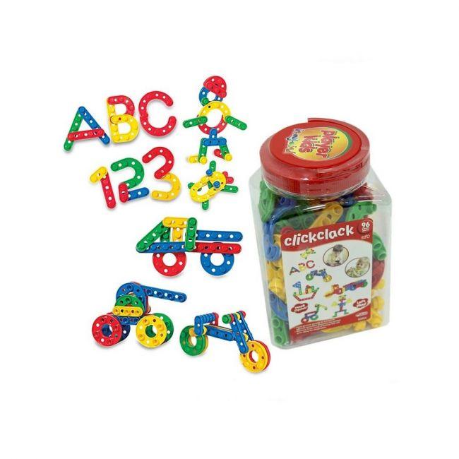 Dede - Click Clack Puzzle Jar 96 Pcs FEN03454