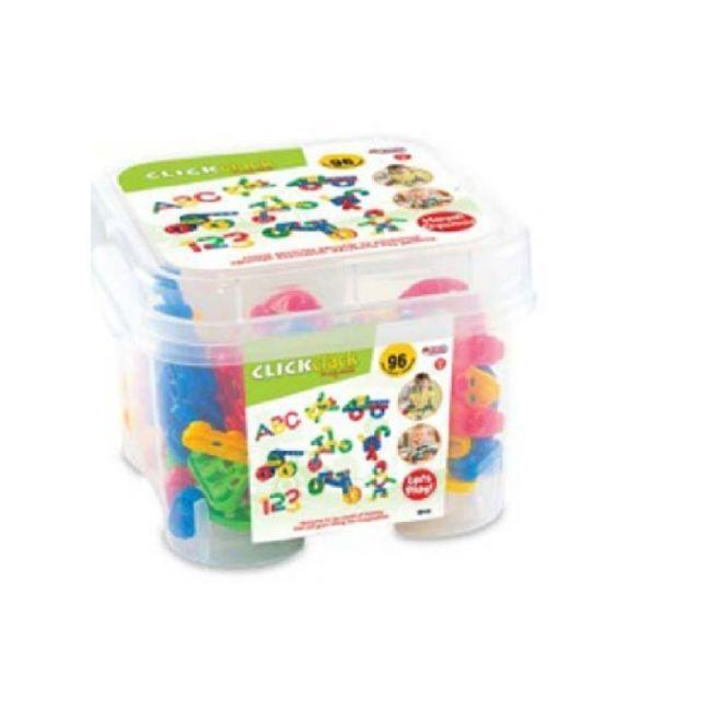 Dede - Click Clack Puzzle Small Box 96 Pcs