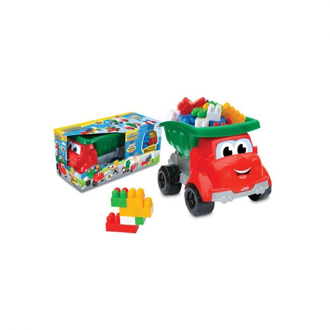 Dede - Dumper Truck With 30 Bricks