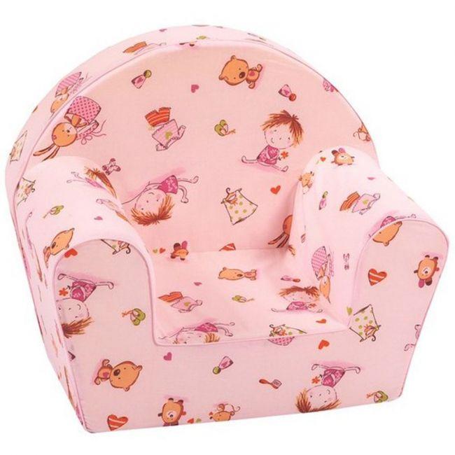 Delsit Arm Chair Grosseil Over Pink