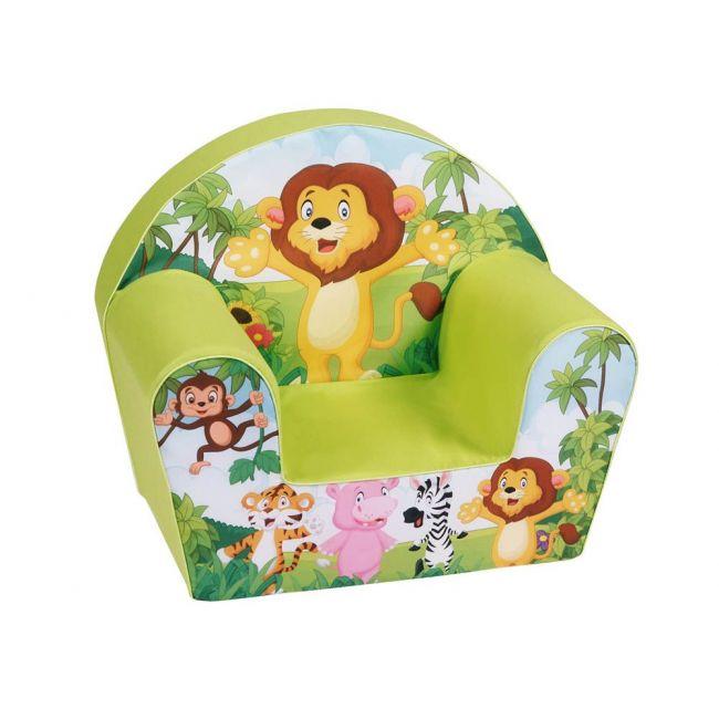 Delsit Arm Chair - Lion Col. Apple