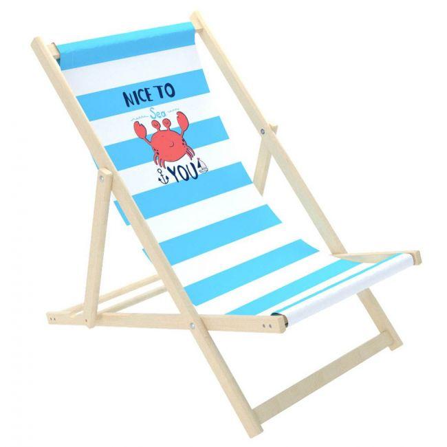 Delsit Sunbed For Children - Crab