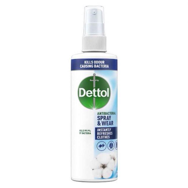 Dettol - Spray And Wear Fresh Cotton Spray 250Ml