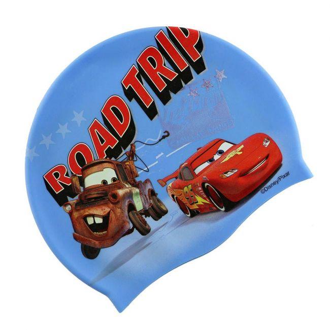 Disney - Cars Silicone Swim Cap For Kids