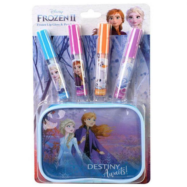 Disney Frozen 2 - Lip Gloss & Pouch Set
