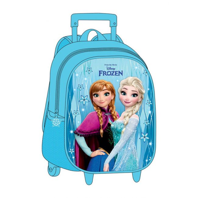 "Disney - Frozen - Eva 3Pc Set Trolley Bag 12"""