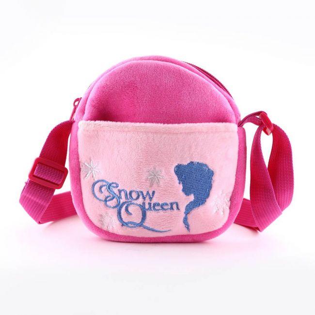 Disney - Frozen Kids Soft Toys Velvet Pouch Children'S Plush Shoulder Bag Sling Bag
