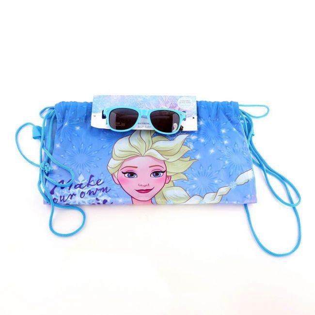 Disney - Frozen Printed Drawstring Bag With Sunglasses