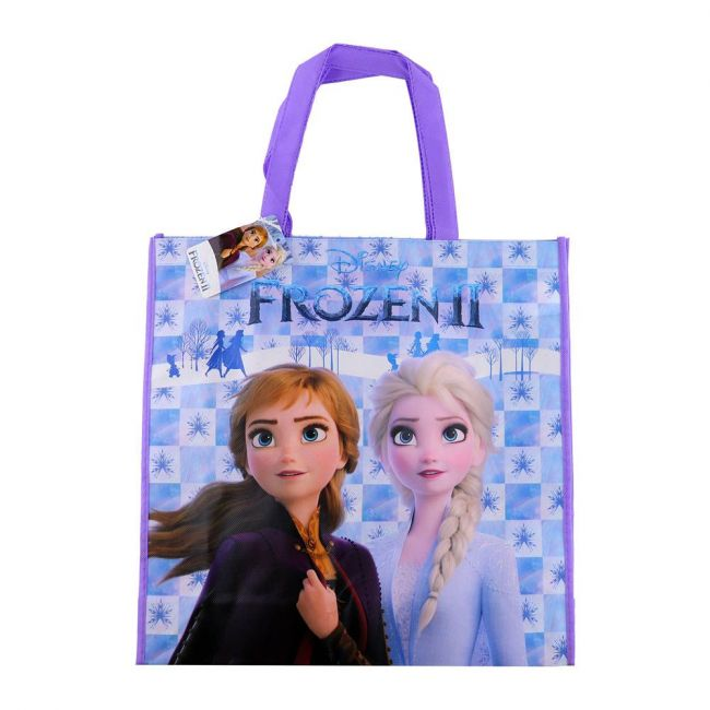 Disney - Frozen Tote Bag Grocery Eco Friendly Bags Reusable Foldable Shopping Bag