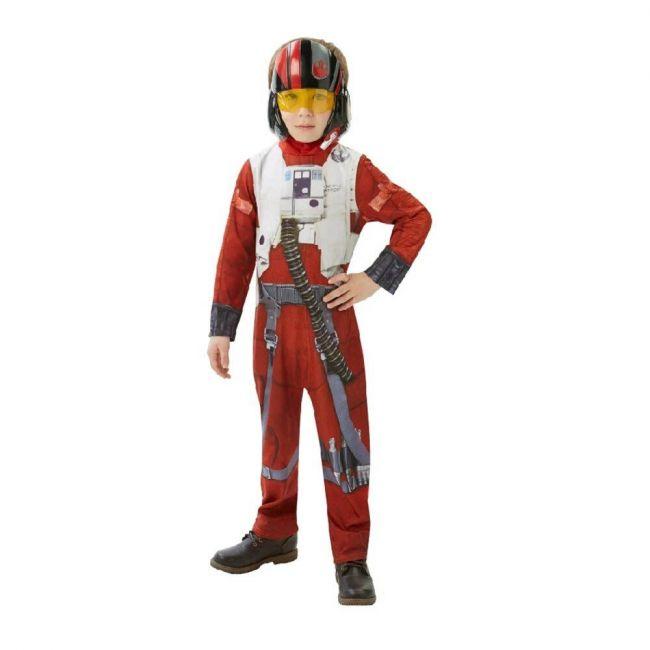 Disney - Lucas Art Star Wars Vii Classic X Wing Fighter Pilot Costume