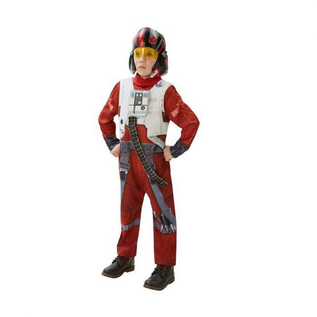 Disney - Lucas Art Star Wars Vii X Wing Fighter Pilot Deluxe Costume