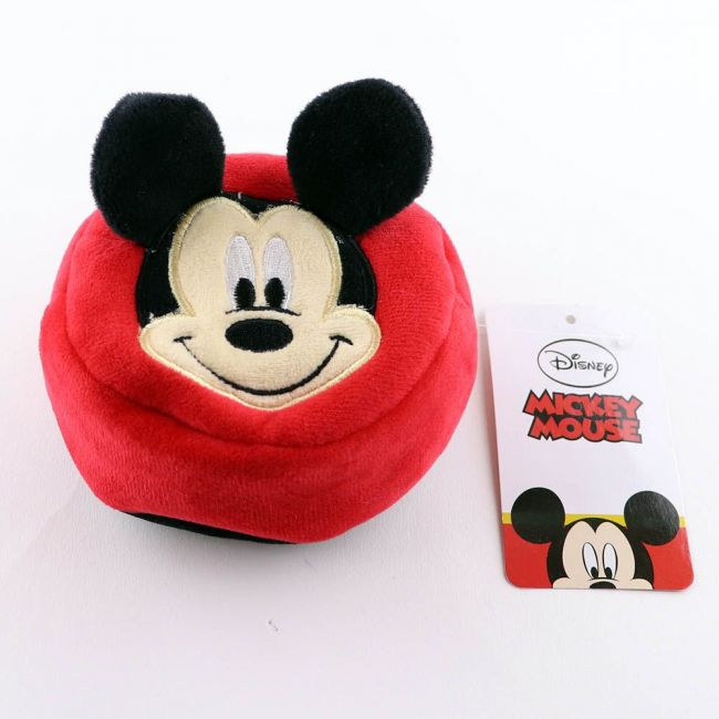 Disney - Mickey Mouse 3D Pouch Coin Key Chain Velvet Pouch
