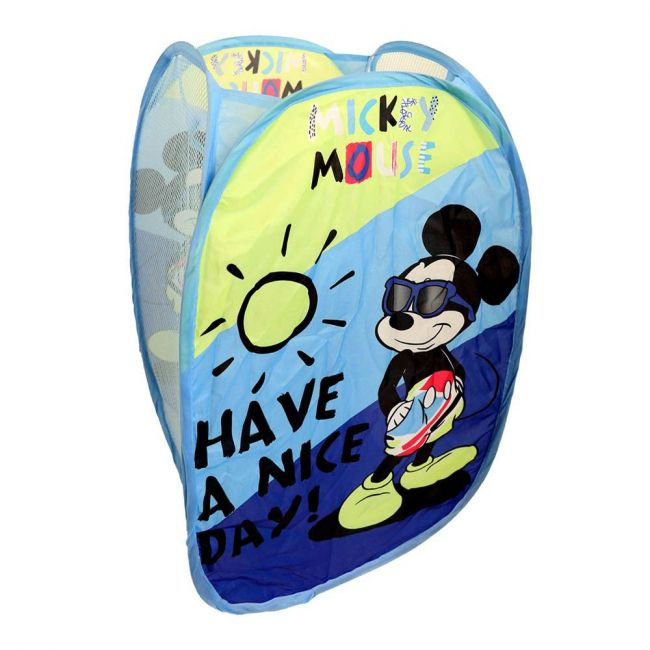 Disney - Mickey Mouse Hamper Laundry Kids Bag
