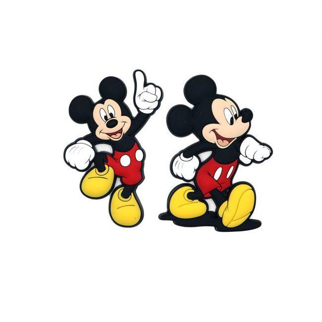 Disney - Mickey Mouse Pack Of 2 Soft Pvc Fridge Refrigerator Magnet