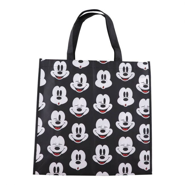 Disney - Mickey Mouse Tote Bag Grocery Eco Friendly Bags Reusable Foldable Shopping Bag