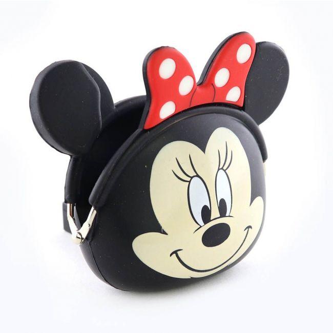 Disney - Minnie Mouse 3D Silicone Coin / Earphone Purse